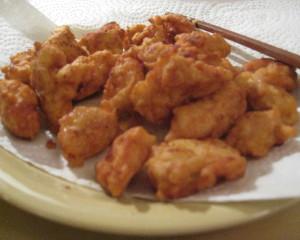 [닭강정] chicken karaake