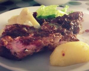 [베이비포크립스바베큐] Baby Pork Ribs BBQ