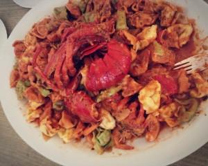 [랍스타 토틸리니 로제 파스타] tortellni in lobster rose sauce